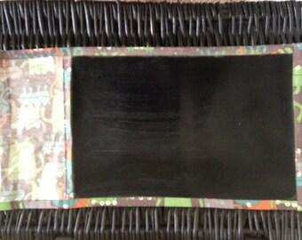 Travel rollup chalkboard