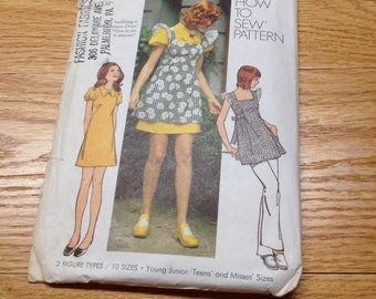Vintage Simplicity How to Sew Pattern 5465
