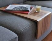 Couch cushion table,Sofa table, sofa shelf , couch shelf, couch table , sofa ipad, sofa tray, work surface , computer table, Sweetgum,