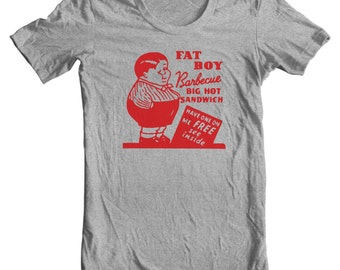 Fat Boy Barbecue San Francisco California Vintage Matchbook T-shirt
