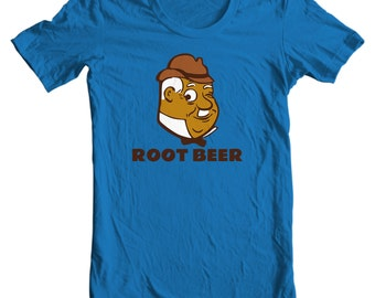 Graf Root Beer Vintage Bottle Cap T-shirt