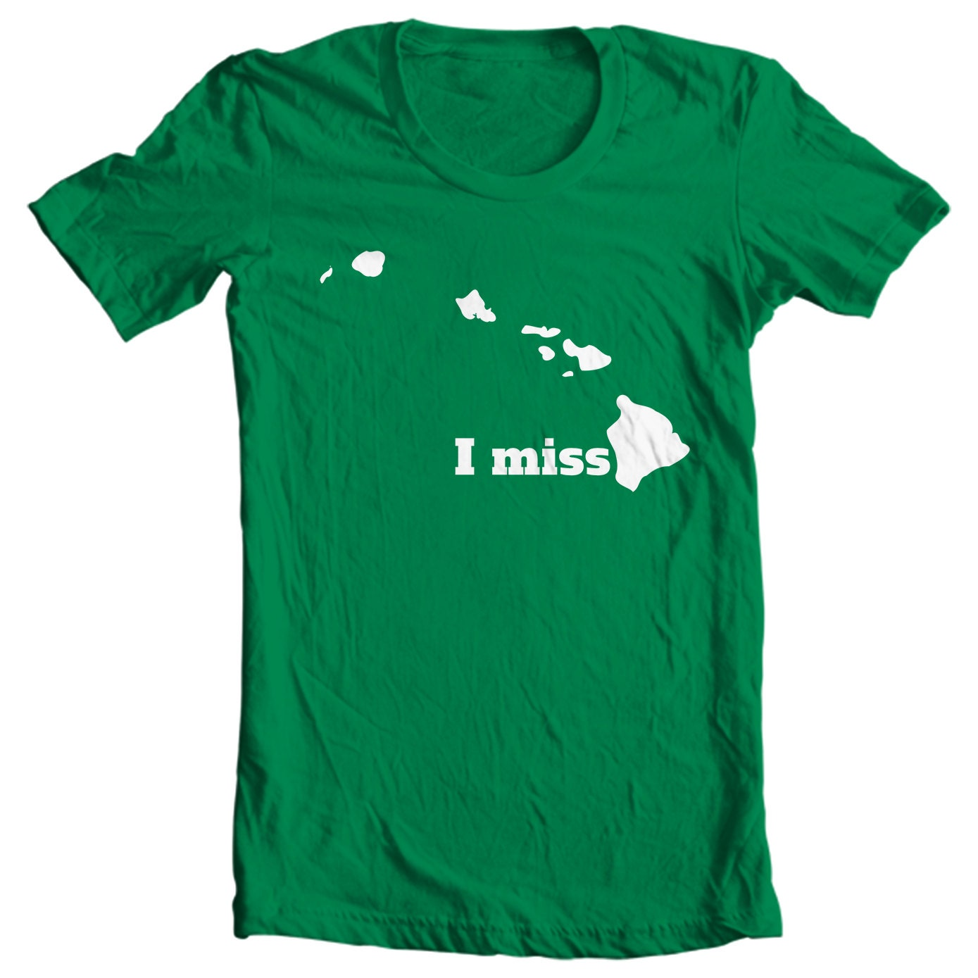 Hawaii T-shirt - I Miss Hawaii - My State Hawaii T-shirt