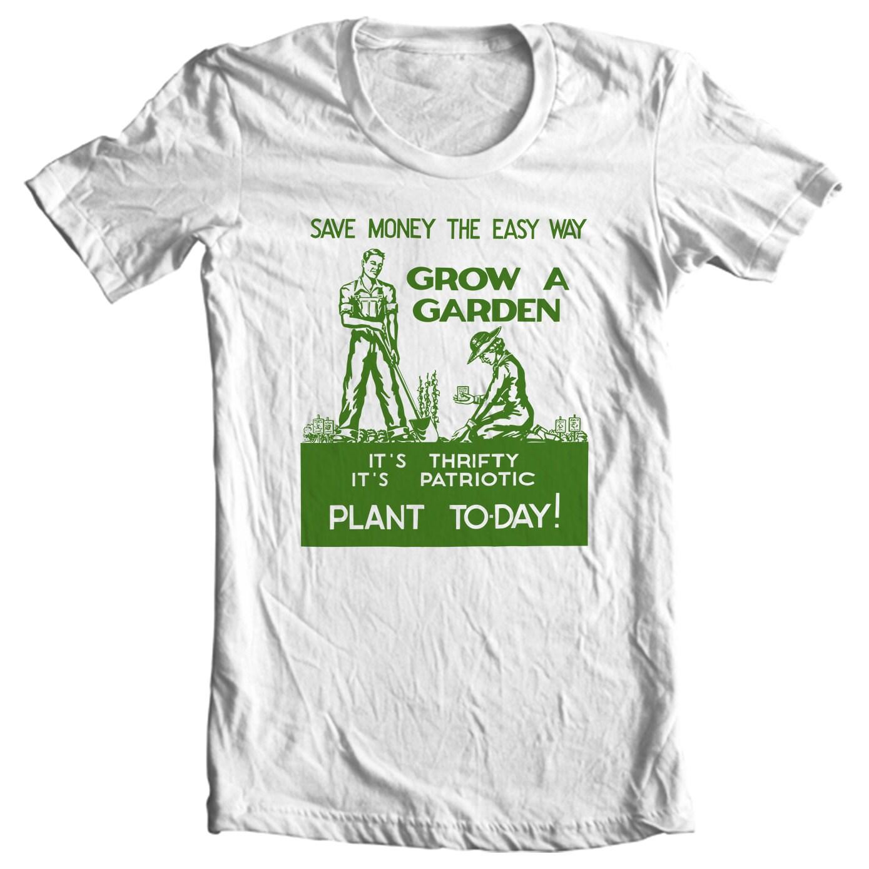 Grow A Garden World War II Poster T-shirt