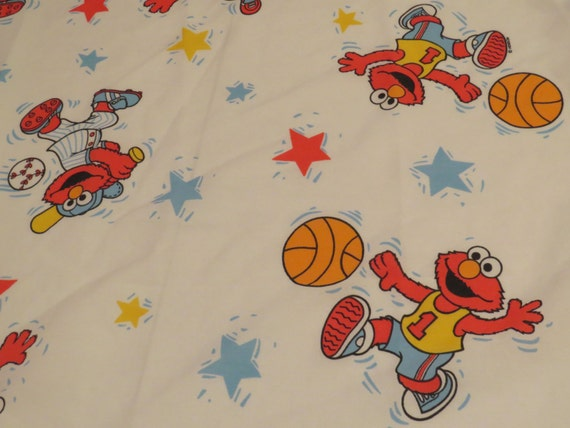 Elmo Sheets Crib Vintage Elmo Crib Sheet