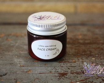 Face cream, ultra nourishing, for dry or normal skin