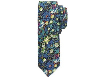 Liberty Print Tie- Strawberry Thief