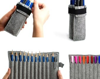 Wrapbag Foldable Felt Pen and Pencil Case, Pen Holder, Pencil Holder (Express Shipping )
