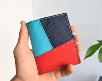 Bifold wallet, Vegan wallet, Mens wallet, Minimalist wallet, Mens bifold wallet, Womens wallet, Slim wallet, Slim vegan wallet