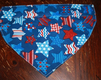 4th of July Star Slip On Bandanna
