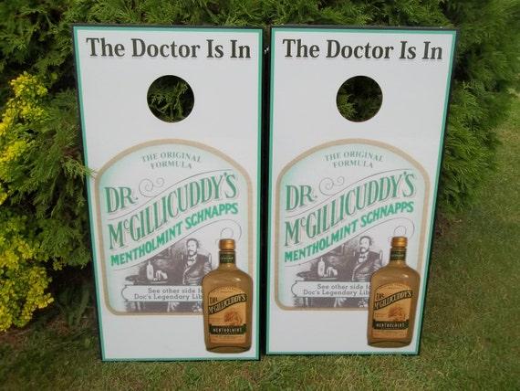 Dr Mcgillicuddy S Corn Hole Boards Bean Bag Toss Game