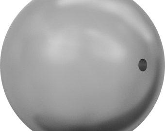 Swarovski Pearl Strands 5810 - 3mm, 4mm, 5mm, 6mm, 8mm, 10mm, 12mm - Grey