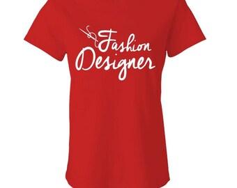 FASHION DESIGNER SEWING Women's Babydoll Tee - girly, cute, fashion