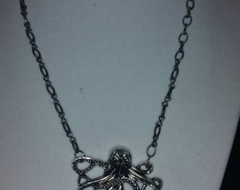 Octopus chain necklace.