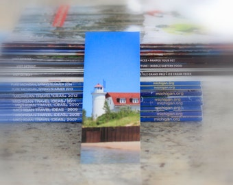 Michigan Photography Bookmark Point Betsie Lighthouse, Frankfort Michigan