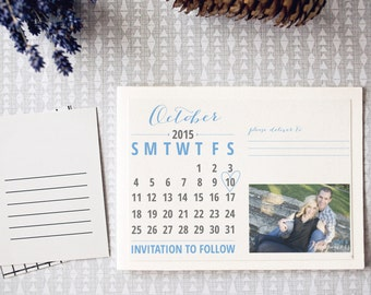 Save the Date - Post card style