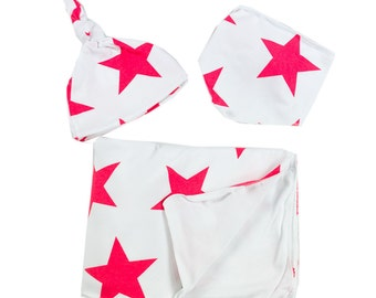 Newborn Pack. Star Red Love