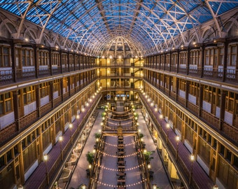 The Arcade in Cleveland - **HIGH-QUALITY** shot by Award Winning Photographer Andrew Gacom