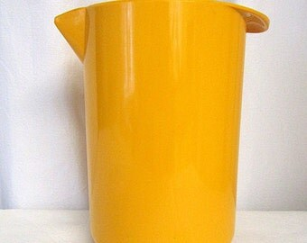 70s Retro Plastic Pitcher Rosti Made in Denmark