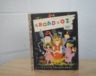 The Road to Oz Little Golden Book