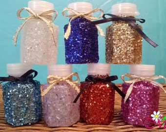 Mini Glitter Wedding Bubbles, Wedding Favors, (0.6 fl oz each) (Your Choice of Color), Gold Wedding Bubbles, Mini Bubbles, Shower Favors
