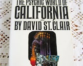 Vintage The Psychic World of California Book by David St. Clair 1973