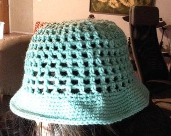 Summertime Mesh bucket hat