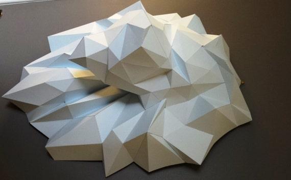 Préférence Paper Trophy Lion Head DIY papercraft. LO69