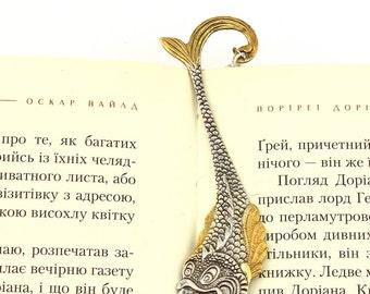 Silver Bookmark Fish