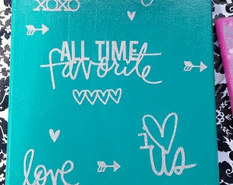 Love Canvas Art, Marriage, Decor, Home, Bedroom
