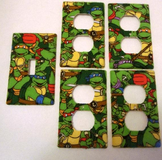Teenage Mutant Ninja Turtles Light Switch By ChrisCraftiedecor