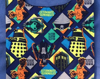 Doctor Who Shopping or Book Bag with Key Ring
