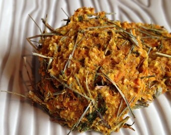 Carrot Dill Rabbit Cookie Treats