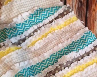 Rag Quilt Blanket