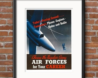 Airforce mom etsy for Decor 6 air force