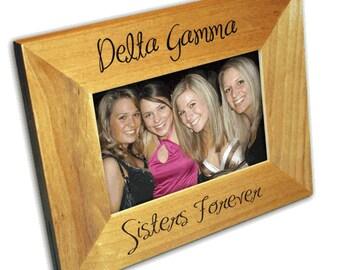 Delta Gamma Picture Frame