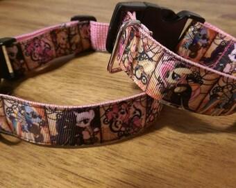 Steampunk My little pony dog collar