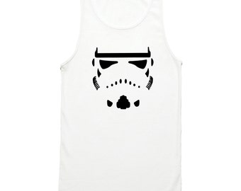 Star Wars Storm Trooper Tank Top - Awesome Stormtrooper Tank Top - Star Wars Tank Top - Storm Trooper Shirt