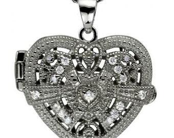 Locket Necklaces Heart Lockets Diamond Locket Gold Locket Necklace 14k Gold