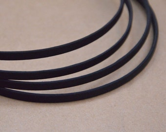 20pcs 5mm wide metal headband with satin covered black hair band with bent end silk  wrapped headband hair accessories