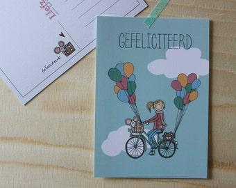 Postcard Congratulations