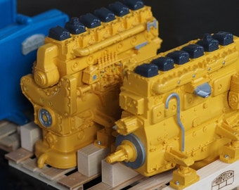 News Piombotech in limited edition: marine diesel engine for trucks on a 1 14,5 or 1 16 scale.