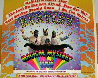 THE BEATLES Magical Mystery Tour Stereo Near Mint Minus 1967 Vinyl Album Apple SMAL 2835