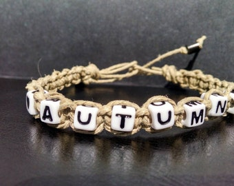 Alpha Hemp Bracelets *Fully Customizable*