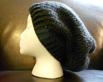 Black Slouchy Hat