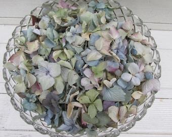 10 Cups Loose Dried Hydrangea Flower Petals for Confetti, Wedding, Flower Girls, Potpourri, Craft, Flower Cones, DIY