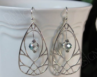 Winged Shimmer Earrings