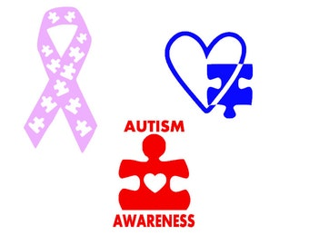 Autism Decals - Autism Stickers - Autism Awareness