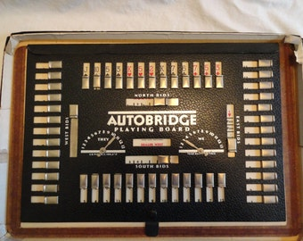 1937 Autobridge Playing Board