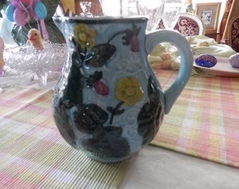 GERMANY MAJOLICA PITCHER