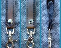 Leather Keychain Strap